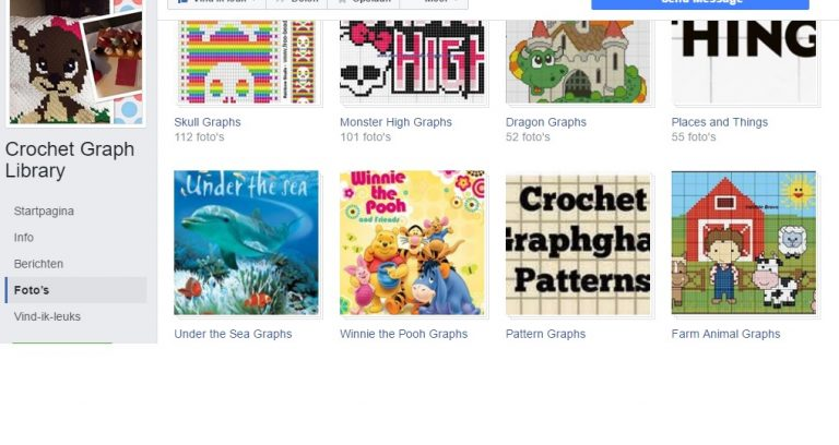 Find corner to corner and pixel crochet patterns on Facebook