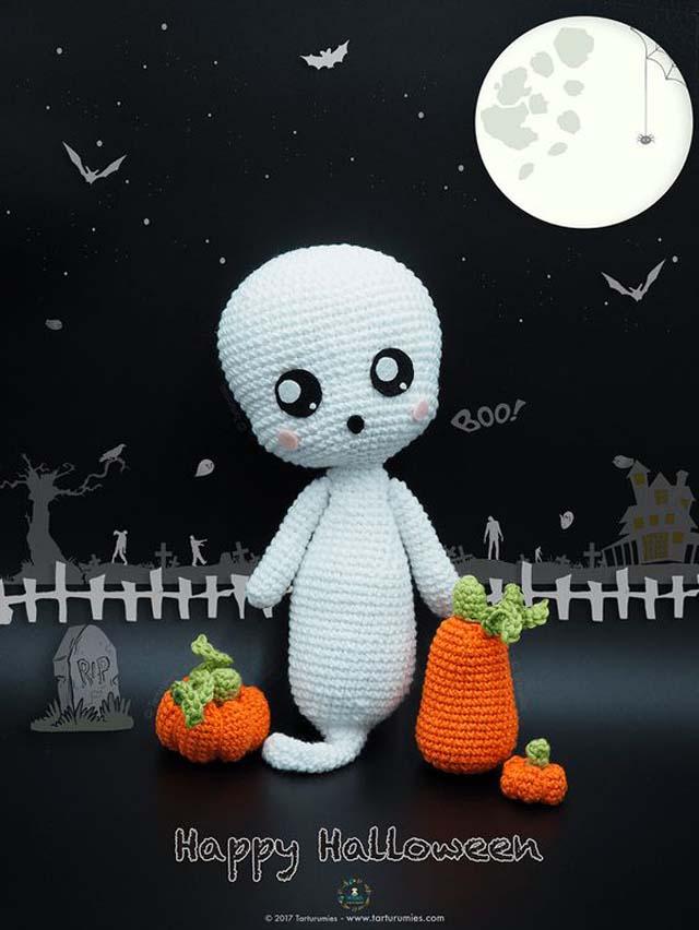 Free english crochet pattern ghost boo