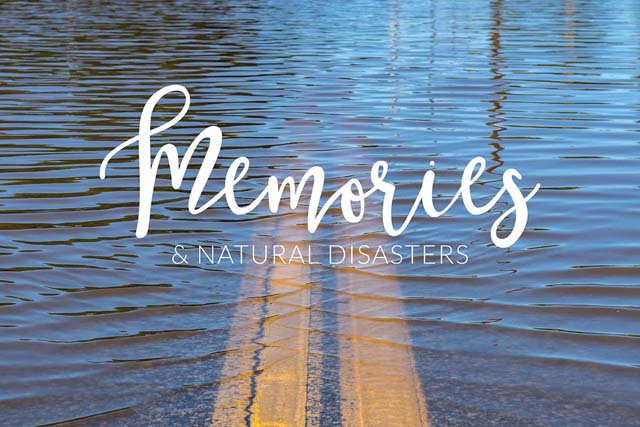 Blog post on how to save your photos from disasters