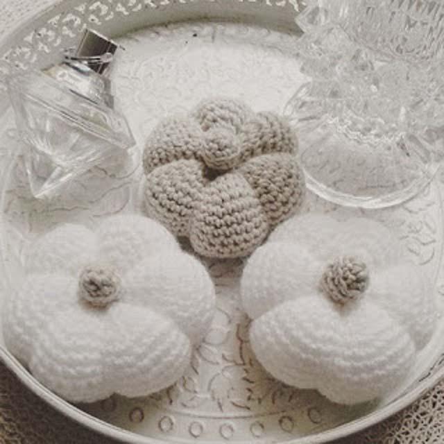 Nederlands haakpatroon voor pompoenen