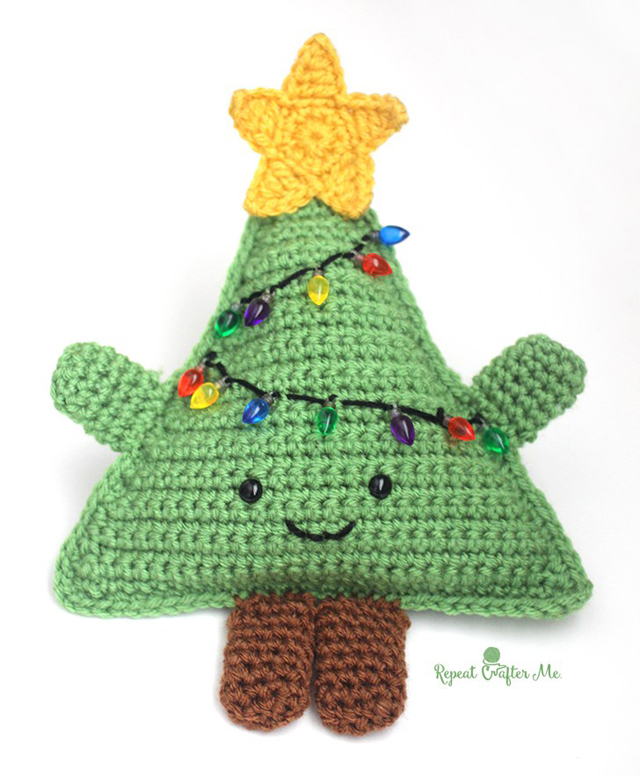 Cuddletree gratis haakpatroon kerstboom