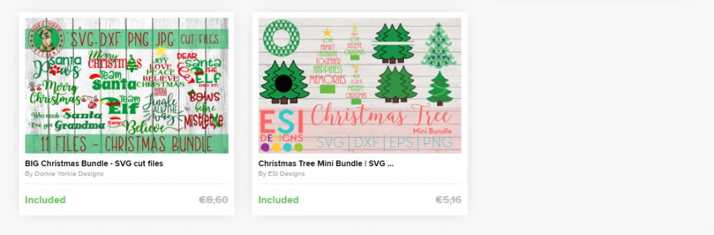 cheap christmas font and symbols 1d