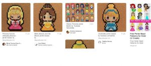 On Pinterest you can find many perler beads patterns for your corner to corner crochet work