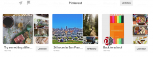 Pinterest - How to name your boards