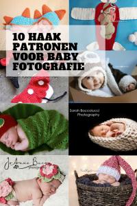 10 HAAK PATRONEN VOOR BABY FOTOGRAFIE