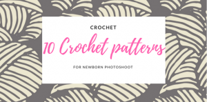 10 free and premium crochet patterns for baby photoshoot