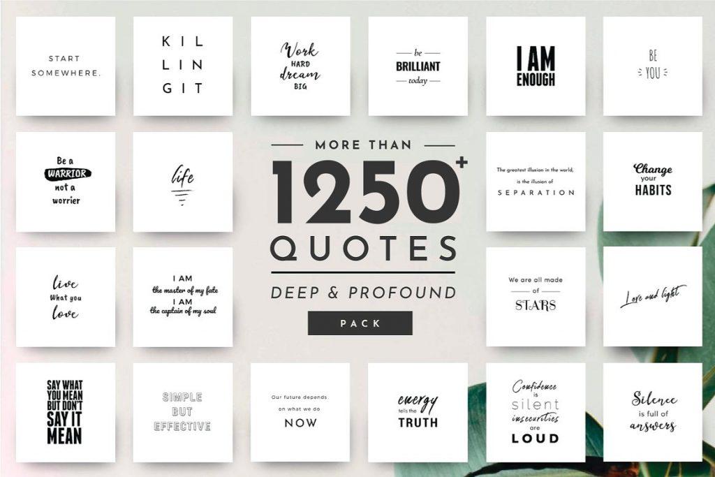 1250+ Social Media Quotes