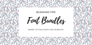 Where to find cheap font bundles , with discount and commercial use