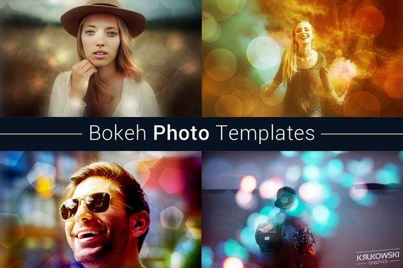 Bokeh Photo Template
