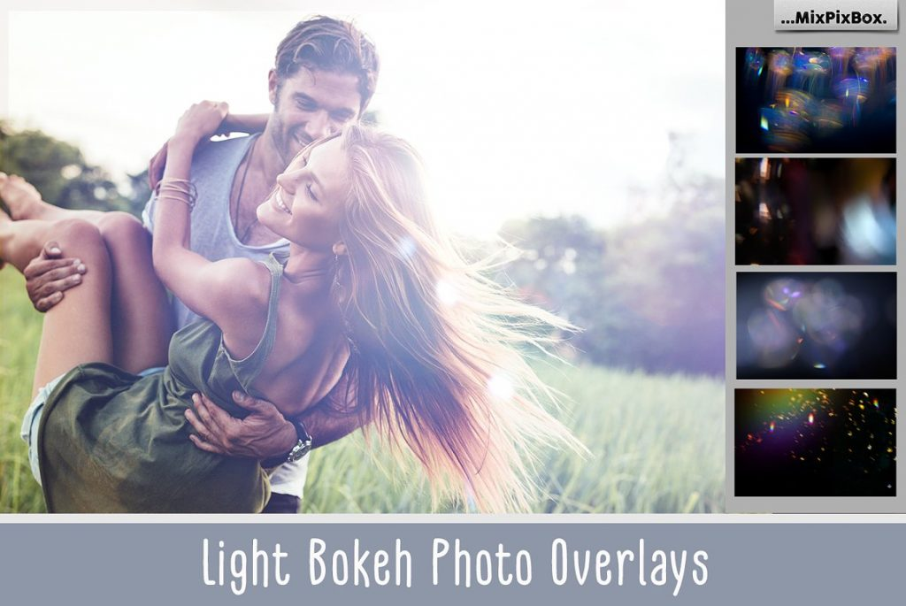 Light Bokeh Photo Overlay